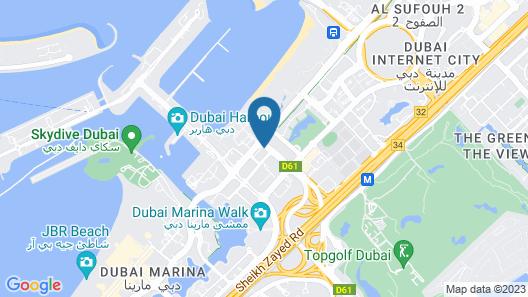 Tamani Marina Hotel and Hotel Apartments Map