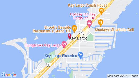 Key Largo Cottages Map