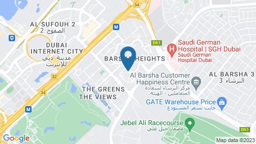 Grand Belle Vue Hotel Apartment Map