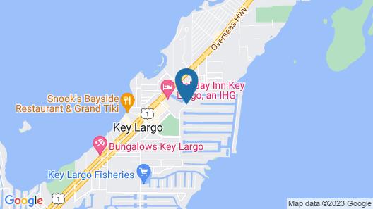Marina Del Mar Resort and Marina Map