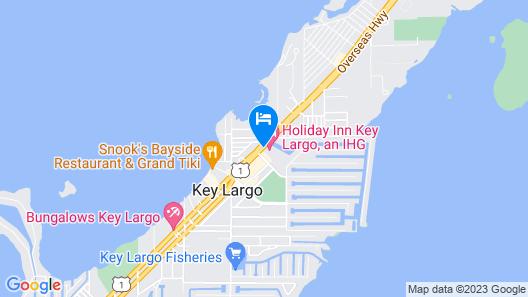 Holiday Inn Key Largo Map