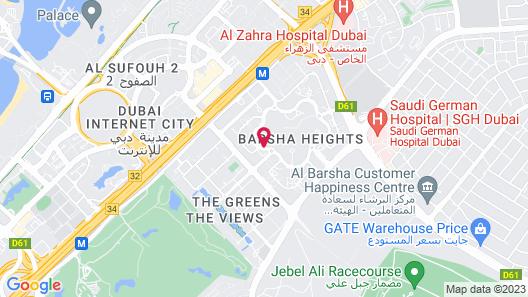 Signature 1 Hotel Tecom Map