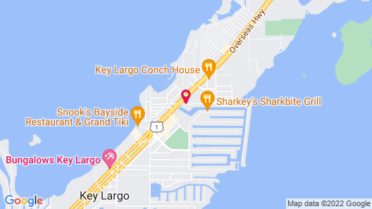 Courtyard by Marriott Key Largo Map