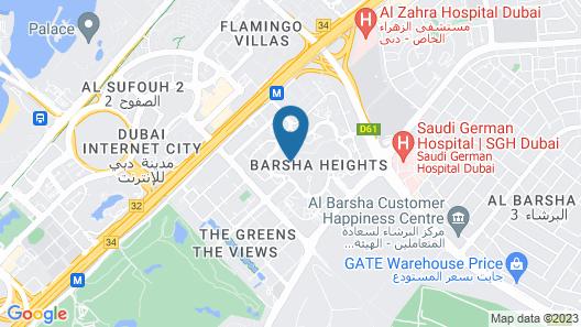 TRYP by Wyndham Dubai Map