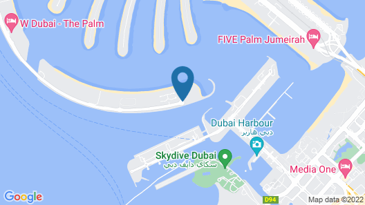 One&Only The Palm Map
