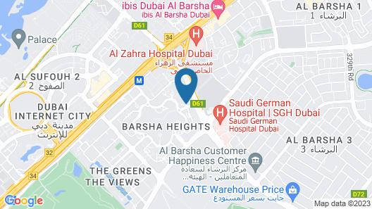 Media Rotana Map