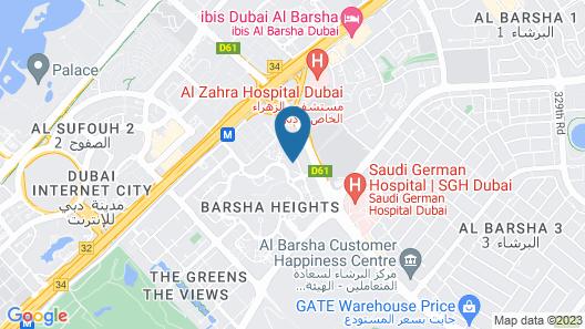 Golden Tulip Media Hotel Map