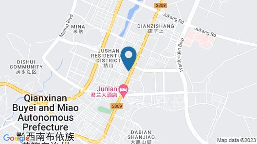 7 Days Premium Guangyi Magic West Road Branch Map