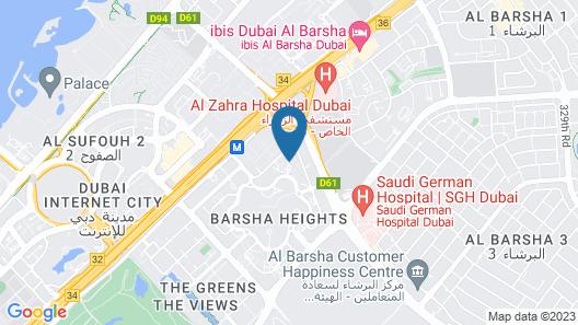 Grand Millennium Dubai Map