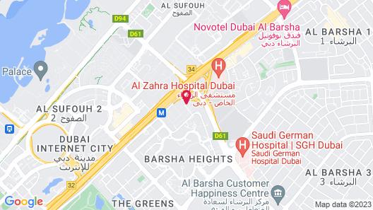 Atana Hotel Map