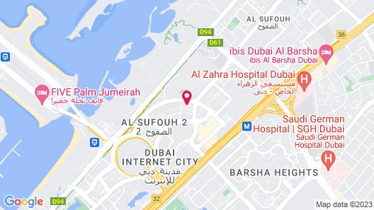 Holiday Inn Express Dubai, Internet City, an IHG Hotel Map