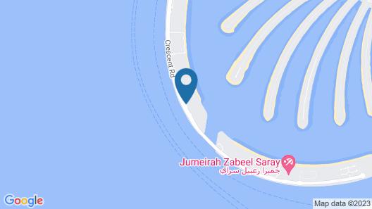 W Dubai - The Palm Map