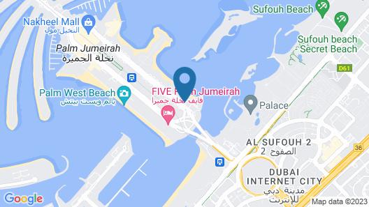 Royal Club at Palm Jumeirah Map