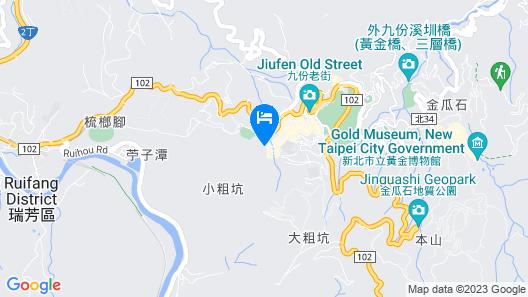 Flip Flop Hostel - Jiufen Map