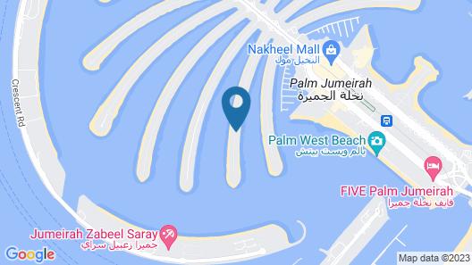 Dream Inn Dubai - Signature Villa Map
