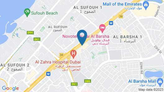 ibis Al Barsha Map