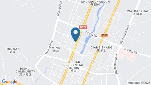 IU Hotels·xingyi Sports Center Map
