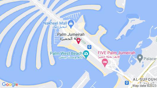Fairmont The Palm Map
