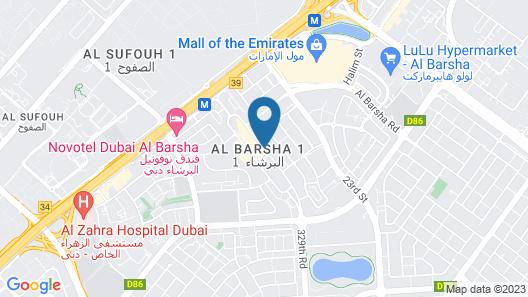 Al Khoory Atrium Hotel Map