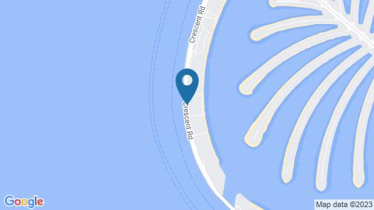 Kempinski Hotel & Residences Palm Jumeirah Map