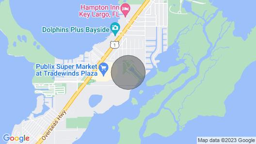 Key Largo Kampground Vacation Map