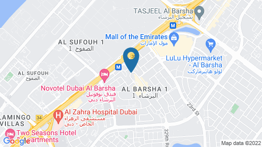 MD HOTEL Map