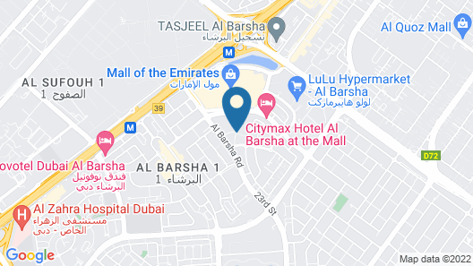 Ivory Grand Hotel Apartments Map