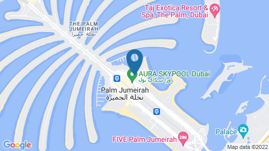 Andaz by Hyatt – Palm Jumeirah Residences Map