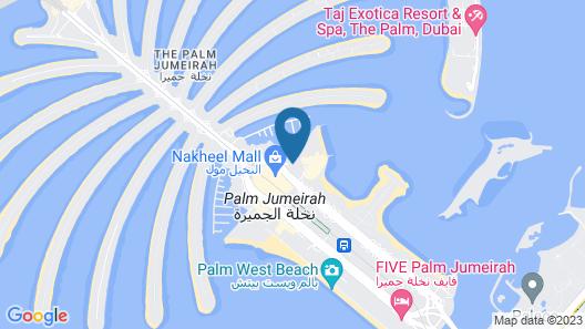 Andaz by Hyatt – Palm Jumeirah Map