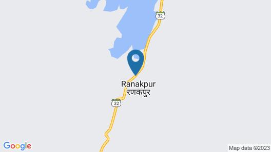 King's Abode Ranakpur Map