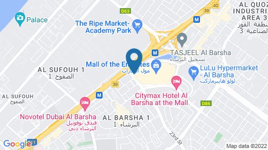 Kempinski Mall Of The Emirates Map