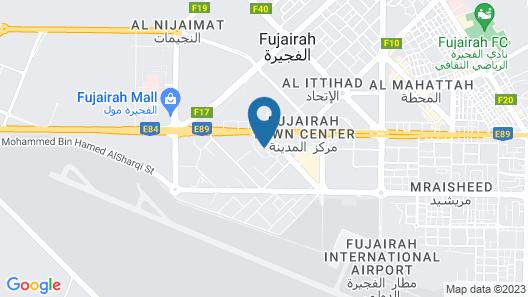 Aparthotel Adagio Fujairah Map