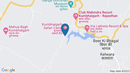 Kumbhalgarh Fort Resort Map