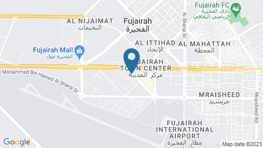 Ibis Fujairah Map