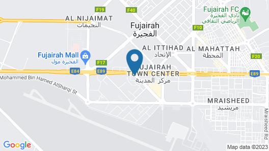 Novotel Fujairah Map