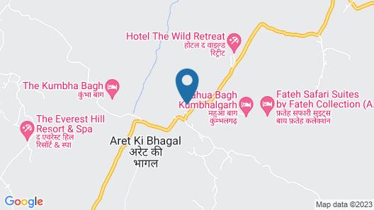Fateh Safari Suites Map