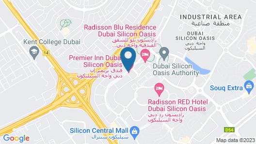 Premier Inn Dubai Silicon Oasis Map