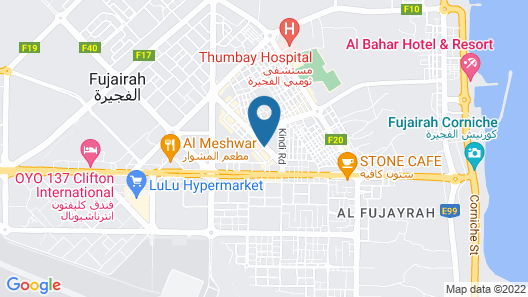 Fortune Hotel Apartments Map