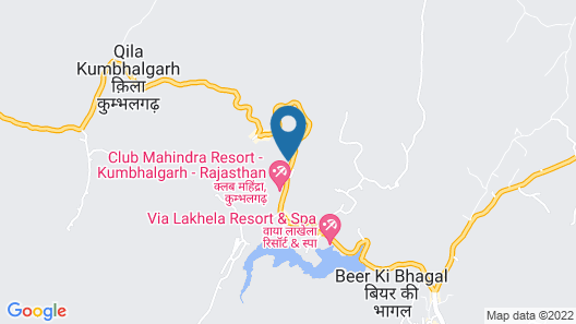 Shahpura Kumbhal Villas Map