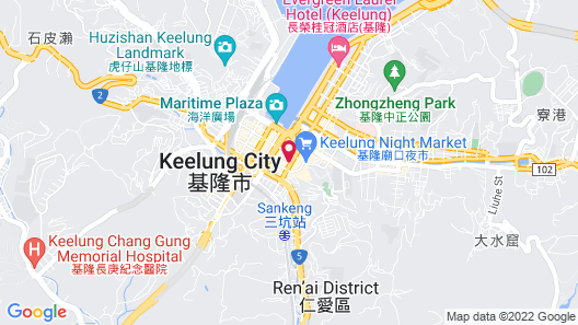 Keelung Imperial Hotel Map