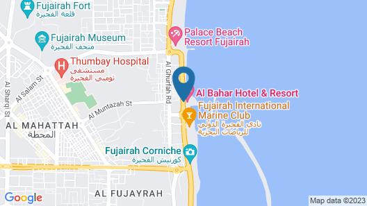 Al Bahar Hotel & Resort Map