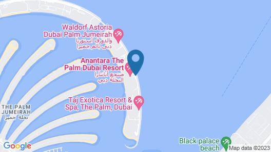Anantara The Palm Dubai Resort Map