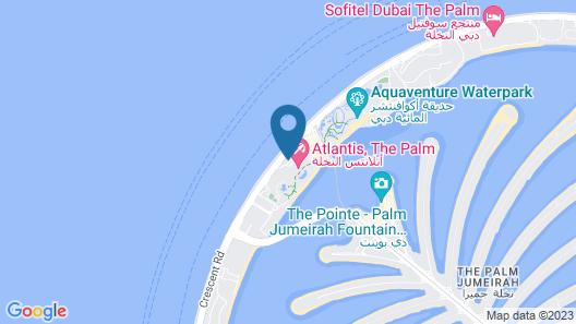 Atlantis The Palm Map