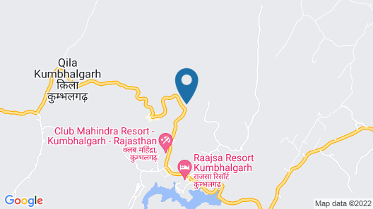 The G Mount Valley Resort & Spa Map
