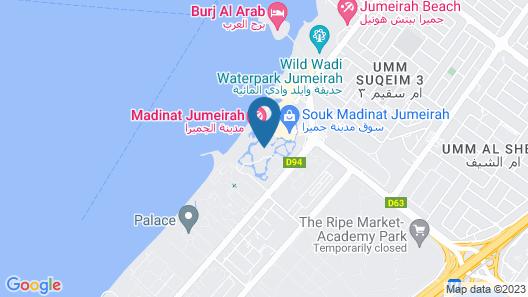 Jumeirah Al Qasr Map