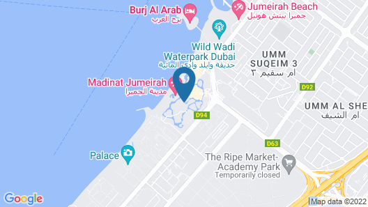 Jumeirah Dar Al Masyaf  Map