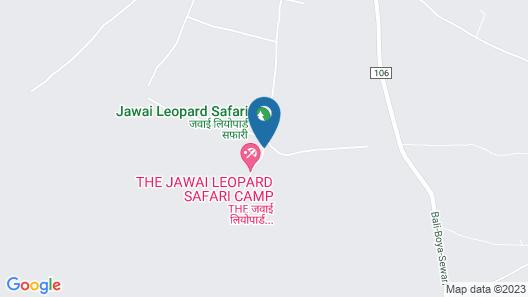 Jawai Jungle Safari Camp Map