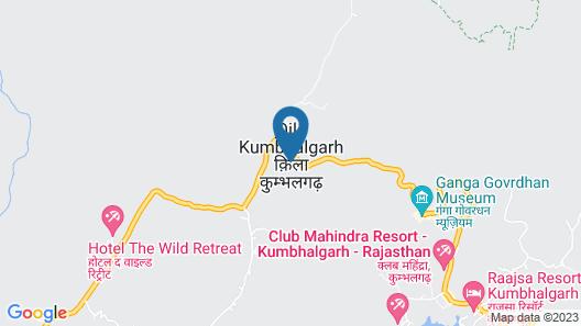 Kumbhal Palace Kumbhalgarh Map