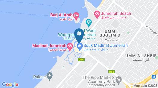 Jumeirah Mina A Salam Map