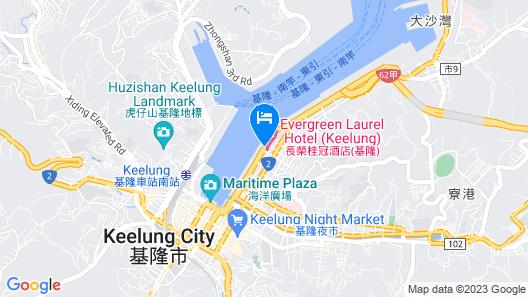Evergreen Laurel Hotel Keelung Map